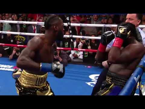 DEONTAY WILDER KO'S BERMANE STIVERNE IN THE FIRST ROUND WOW!