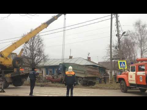 Ликвидация последствий ДТП г.Ковров ул.Челюскинцев-Карла Маркса