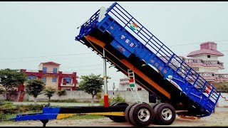 Top 5 Model and New Luxury Colours of TSB Bilga Trolleys । Best trolleys for Agriculture ।