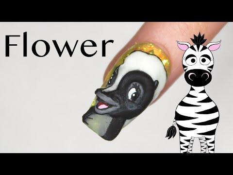 3D Flower Acrylic Nail Art Tutorial | Bambi Series thumbnail