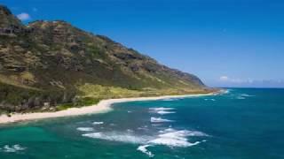Mokuleia Beach, Oahu Rising Oceans eroding beach