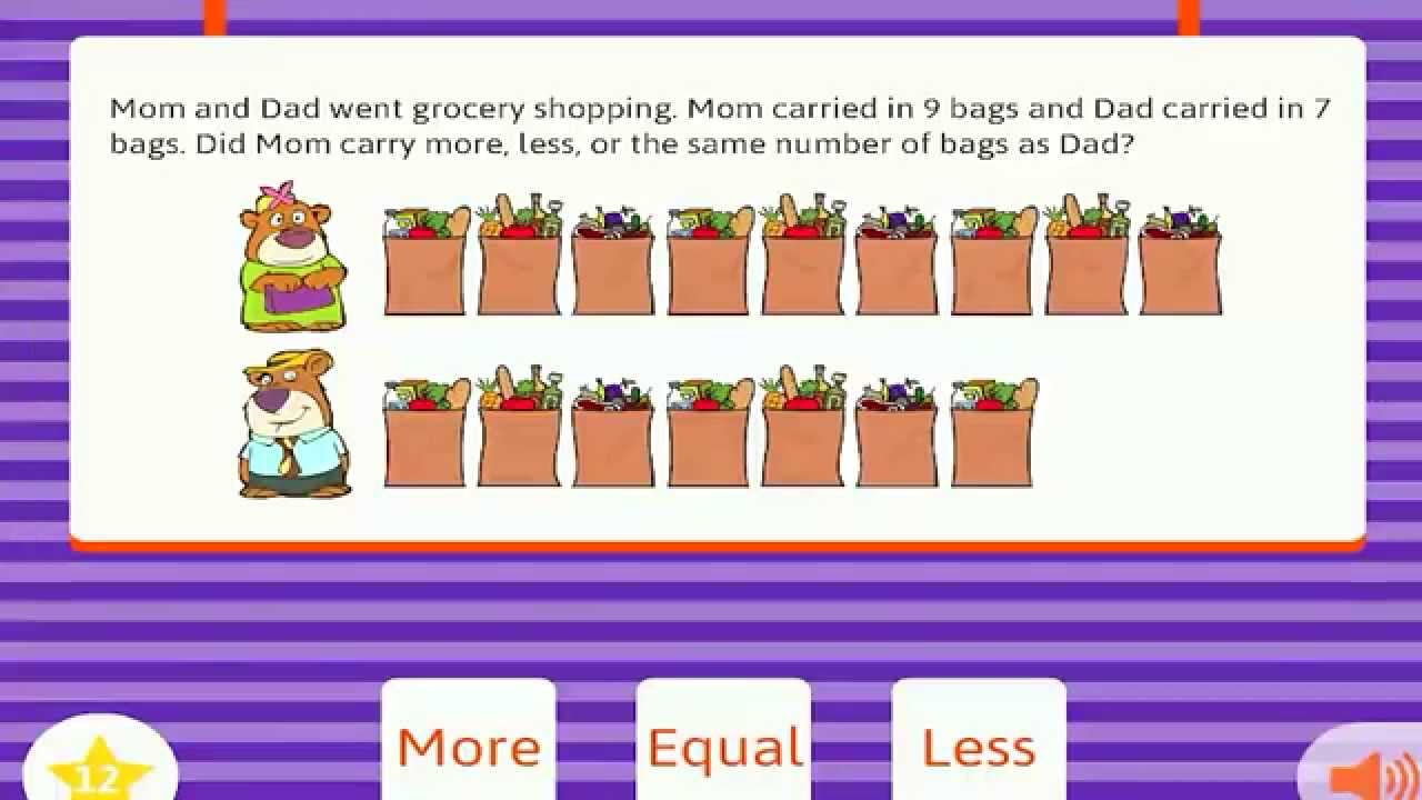 Word problems kindergarten - YouTube
