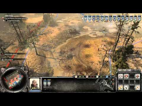 Company of Heroes 2 - The Southern Fronts DLC - Spring Rasputitsa - General Difficulty