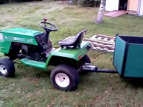 Walk Around Of Rally Lawn Tractor Youtube