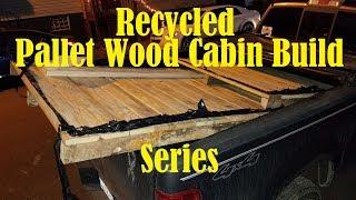 Pallet Wood Cabin-A TA Outdoors bushcraft inspiration