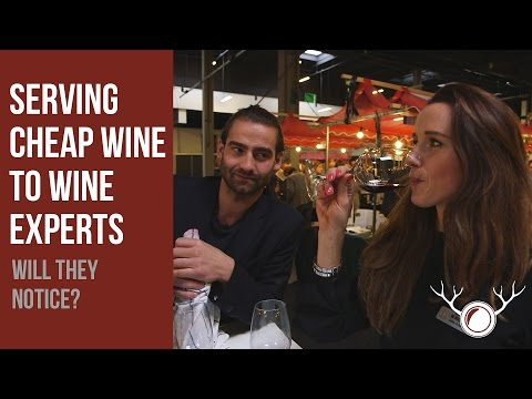 Wine Experts Fooled By Cheap Wine