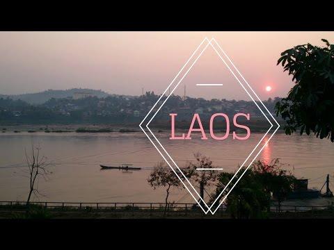 Laos Slow Boat Travel | Luang Prabang, Vang Vieng, Vientiane