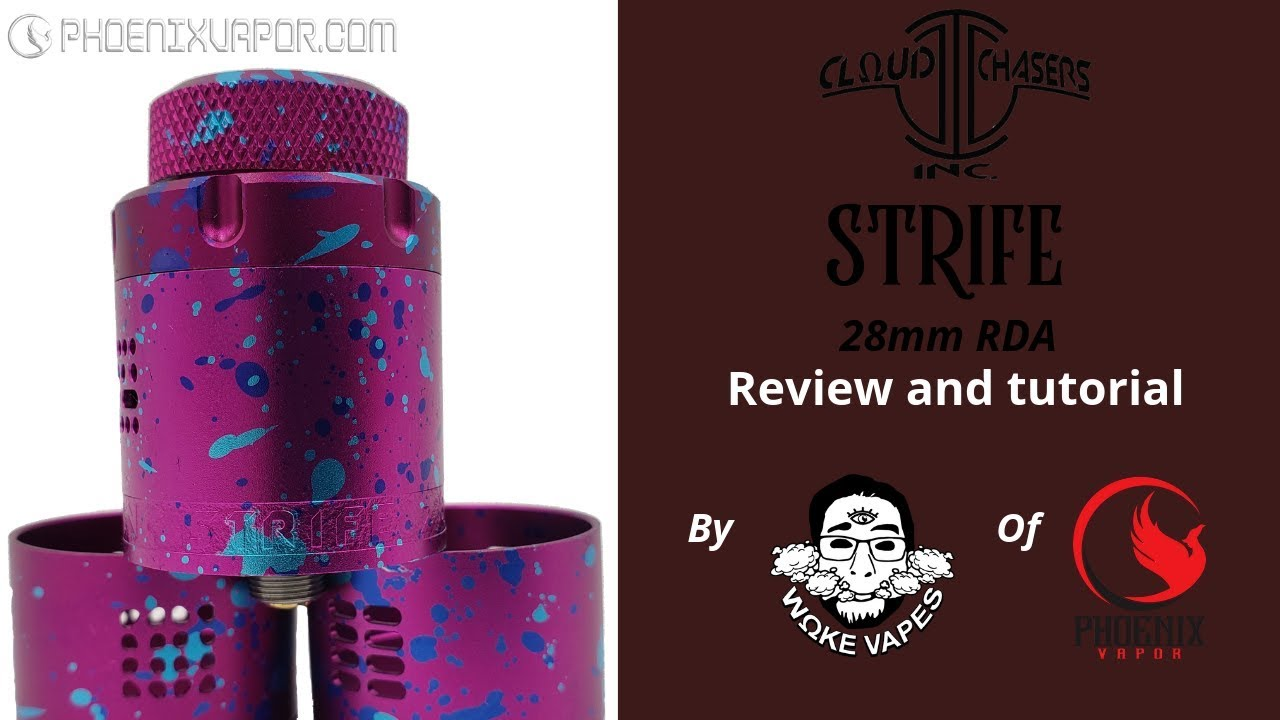 Cloud Chasers Strife RDA - 28mm of building goodness