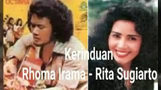 Kerinduan , Rhoma Irama - Rita sugiarto , lagu dangdut enak #dangdut #dangdutlawas
