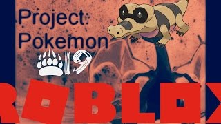 ROBLOX PROJECT POKEMON!!! #19 || NEW CODES!!! BROWN TINT SANDILE!!!
