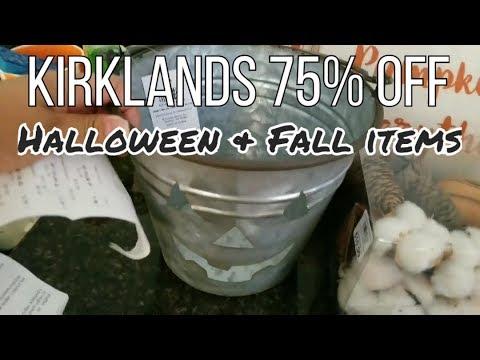 Run!! Kirklands 75%off HALLOWEEN & FALL Items