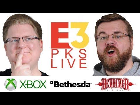 Xbox, Bethesda & Devolver Digital PKs E3 2018 LIVE mit Piet & Chris
