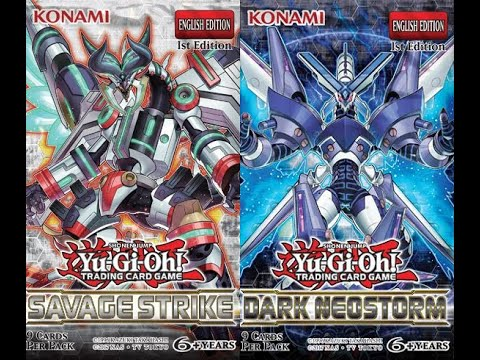 Yu-Gi-Oh Salvage Strike & Dark Neostorm Special Editions Opening  