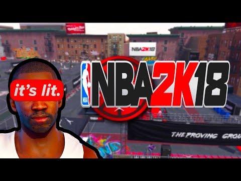 NBA2K18 - MY FIRST GAMEPLAY