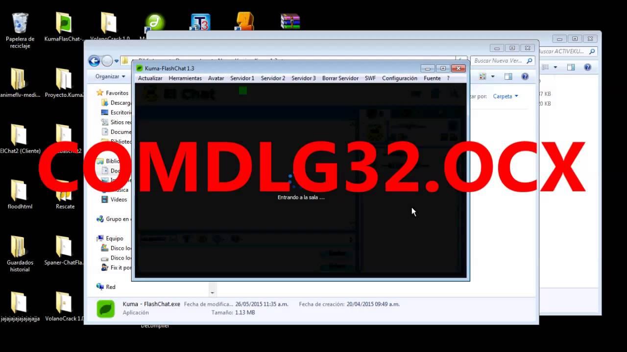 register comdlg32.ocx windows 7 64 bit