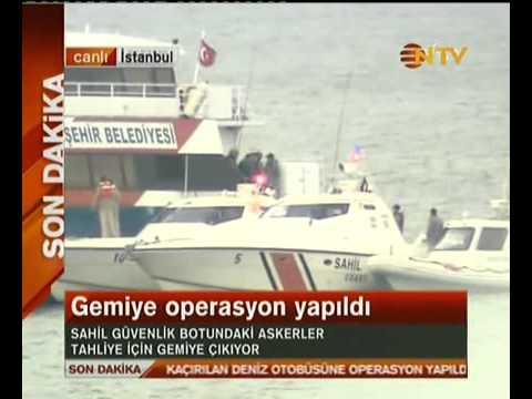 Kaçırılan deniz otobüsü pkk terör örgütü