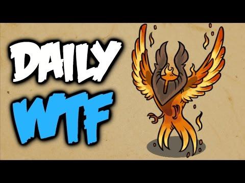 Dota 2 Daily WTF - Phoenix Inside Out