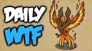 Dota 2 Daily WTF - Phoenix Inside Out