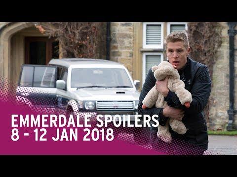Emmerdale spoilers: 8-12 January 2018