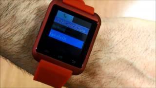 Prueba del Smartwatch Prixton SW8 Rojo, Opirata.com