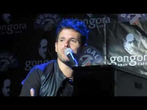 Pablo López - Historia de Te Espero Aquí + canción (Córdoba, 05-06-14)