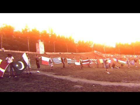 Tomorrowland 2015 Flag Train - A MAGICAL MOMENT OF UNITY