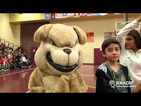 Raadr Inc., Kenny dobbs and Gary Smith at Bales Elementary School