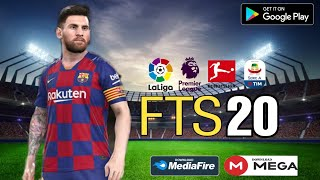 Download FTS 20 MOD PES 2020 Android Offline 300MB Best Graphics New Transfers Update