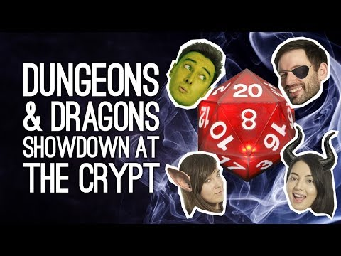 Dungeons & Dragons: The Oxventure Continues! SHOWDOWN AT THE CRYPT (Episode 2)