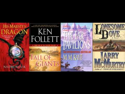Books Roundtable: His Majesty's Dragon / Fall of Giants / The Far Pavilions / Lonesome Dove