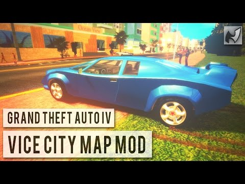 GTA IV - Vice City Map Mod (Updated)