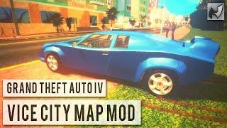 GTA IV - Vice City Map Mod (Updated)