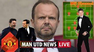 Man Utd transfer news LIVE: Woodward plans £110m January outlay, Allegri & Pochettino links