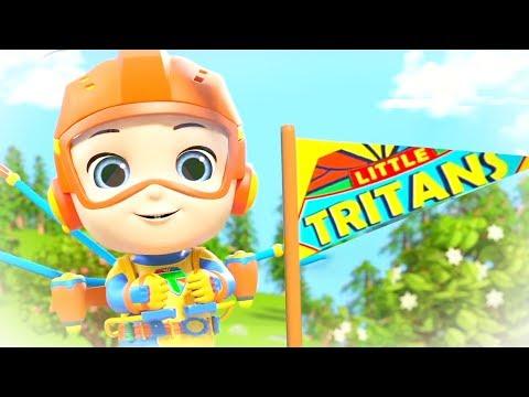 little-tritans-finger-family-song- -kids-nursery-rhymes-&-songs-for-children-by-little-treehouse