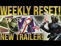 Destiny 2 Weekly Reset. IZANAMI FORGE & 3RD BLACK ARMORY KEY! New Black Armory Guns, Avalanche Fix