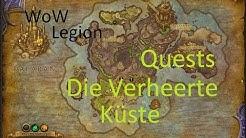iZocke WoW: Legion Quests in Die Verheerte Küste #048 - Schatzsuche am Grabmal