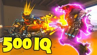 RARE 500IQ TRICK SAVED THE TEAM!! - Overwatch Funny Moments & Best Plays #89