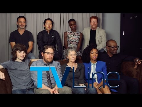 """The Walking Dead"" Interview at Comic-Con 2015 - TVLine"