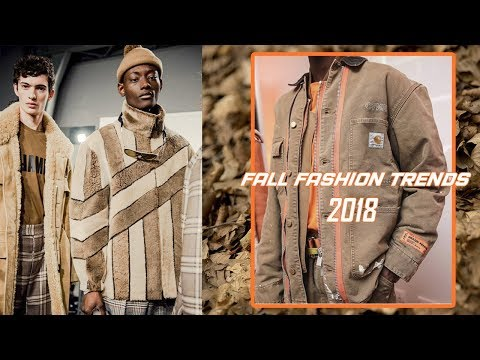 FALL 2018 FASHION TRENDS (Autumn Winter 2018) | Mens Fall Fashion Essentials