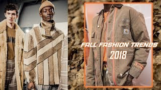 FALL 2018 FASHION TRENDS (Autumn Winter 2018) | Men