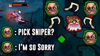 CHORAO PUDGE - Pick Sniper? I'm so sorry.. - 2019 Highlights Dota 2