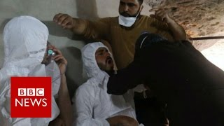 Syria chemical attack 'fabricated' - Assad - BBC News