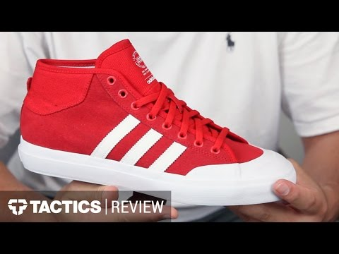 Adidas Matchcourt Mid Skate Shoes Review YouTube
