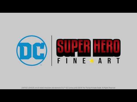 DC Super Hero Fine Art - Silicon Valley Comic Con