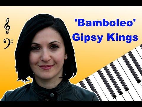 Gipsy Kings  Bamboleo with free download sheets ბამბოლეო ნოტებით