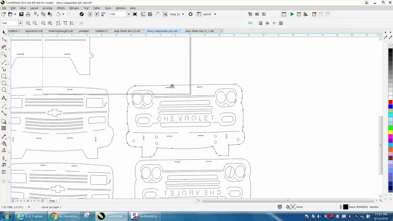 Corel Draw Tips & Tricks CNC PLASMA DXF FILE repair Part 2