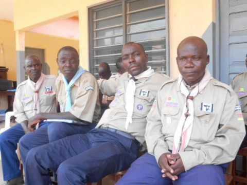 GROUPE DE PRESSE DES SCOUTS  Association Scoute du Togo