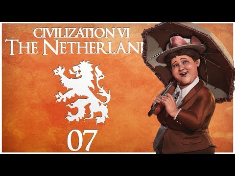 Civilization 6 - Rise and Fall Pre-Release as the Netherlands - Episode 7 ...The Liberation War...