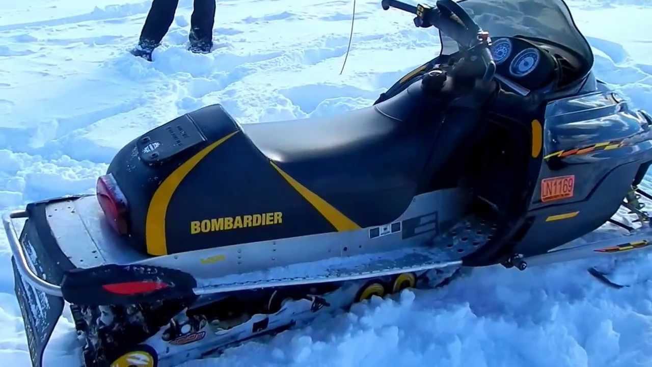 2003 Ski Doo 600 Ho Snowmobile Youtube