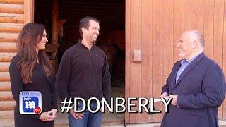 Donald Trump Jr. and Kimberly Guilfoyle open up to DailyMailTV